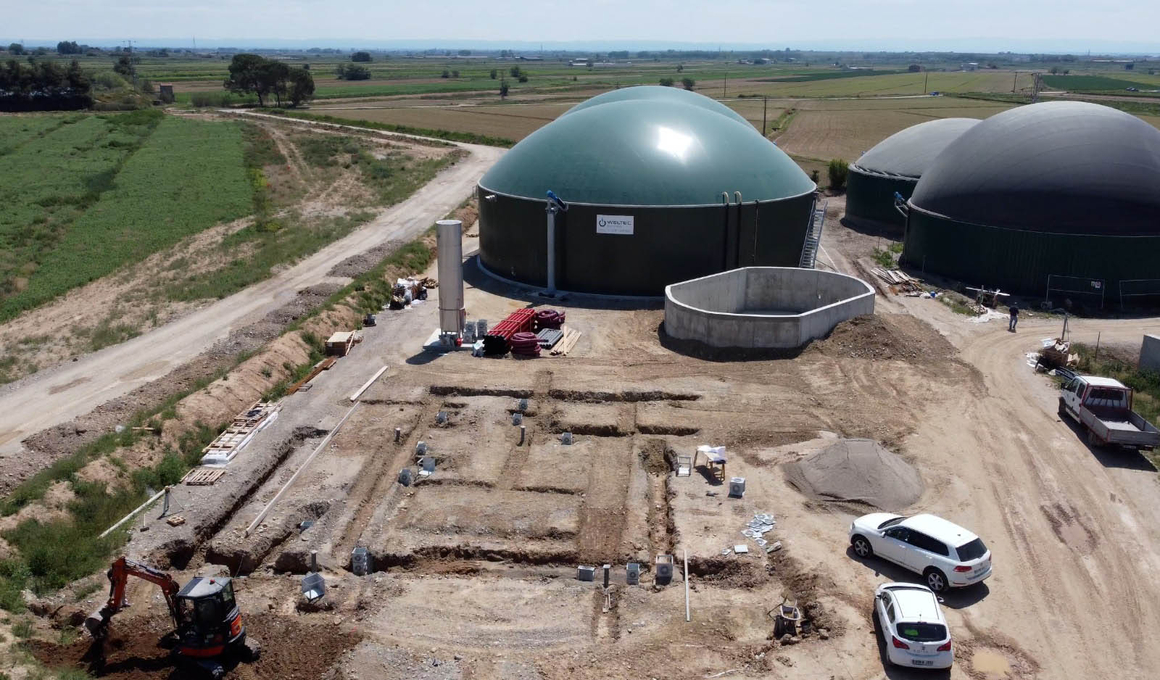 Spain: WELTEC BIOPOWER RNG Plant Cuts Carbon Emissions of Dairy Cattle Farm