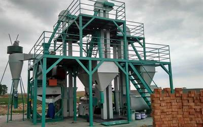 Feed Mill Equipment In Animal
