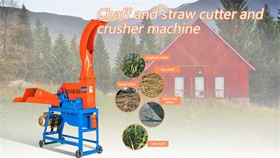Crushing Machine Straw Crusher Manufacturer