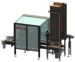 PLACE - Model 1 - Punnets Packing Machine
