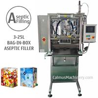 Calmus - Model ASP-BIBF101 - Semi-automatic BIB Aseptic Filler Sterile Products Bag in Box Aseptic Filling Machine