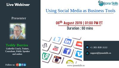 Ijona Skills - Using Social Media as Business Tools