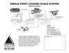 Vulcan - Model T-403 - Single Point Logging Scale System - V300 Electronics - Brochure