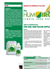 Humiron - Fe Liquid - Organic Iron Deficiency Corrector Brochure