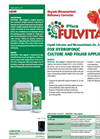 Fulvital - Plus Liquid - Organic Micronutrient Deficiency Corrector Brochure
