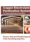 Copper Electro Refining Purification Brochure