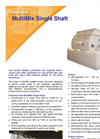 MultiMix - Single Shaft Paddle Mixer Datasheet