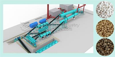 Fertilizer Machine Manufacturer Introduces How to Produce Compound Fertilizer Granules