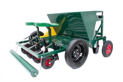 Garmach - Model AGP-4R - 4 Row Chain Type Garlic Planter