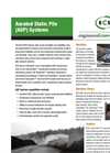 Aerated Static Pile (ASP) Brochure