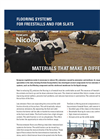 TenCate Nicolon - Flooring Systems for Freestalls and for Slats - Brochure