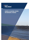 TenCate Nicolon - Liners & Floating Covers for Manure Storage - Brochure
