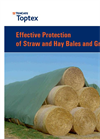 Toptex Straw Cover Protection - Brochure