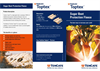Toptex Sugar Beet Protection Cover - Brochure