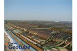 TenCate Geotube - Industrial Fabrics Deliver Dewatering Solutions for Aquaculture