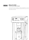 BUCHI - Model B-400 - Powerful Homogenization Mixer Technical Datasheet