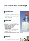 ROBIN® Range: Agitator E5 Type (PDF 119 KB)