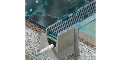 DRAINFIX - Model CLEAN - Filter Substrate Channel System