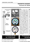 SDEC - SR 1000 - Direct Reading Tensiometer  Brochure