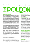 Epoleon Absolute Deodorizer For Agricultural Chemicals - Specifications