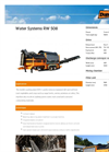 Model RW 508 - Mobile Sugar Beets Washing Plant- Brochure