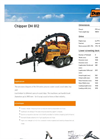 Model DH 812 - Flexible Precision Wood Chipper- Brochure