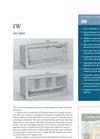 Munters - Model IW150 - Air Inlet - Products Sheet
