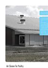 Air Cleaner for Poultry - Brochure
