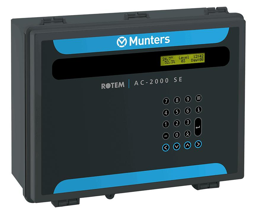 Munters - Model AC-2000 Pig - Climate Controllers for Agriculture
