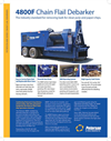 Model 4800F - Chain Flail Debarker- Brochure