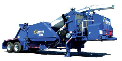 Model 4300B - Drum Chipper