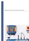 Measuring Control Sensor Technology – ProMinent Product Catalogue 2017, Volume 2