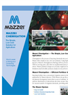 Mazzei Chemigation — The Simple, Low Cost Solution for Agriculture Brochure