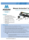 AirJection Irrigation (MAI) Series – Installation Guide Brochure