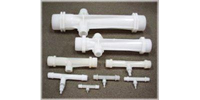 Model ECTFE - Ethylene Chlorotrifluoroethylene Venturi Injectors
