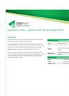 SediMax - Model SW12 - Straw Wattle - Datasheet