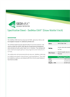 SediMax - Model SW9 - Straw Wattle - Datasheet