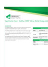 SediMax - Model SWB9 - Straw Wattle Biodegradable - Datasheet