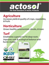 actosol - Humic Acid Fertilizer - Brochure