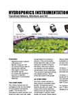 Myron - Hydroponics Instrumentation - Handheld Meters, Monitors and Kit Datasheet
