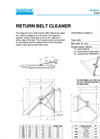 Belt Ploughs - MR1/MR2 – Specification