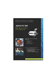 Model AQUA-PU 800 - Medium Pressure UV System Brochure