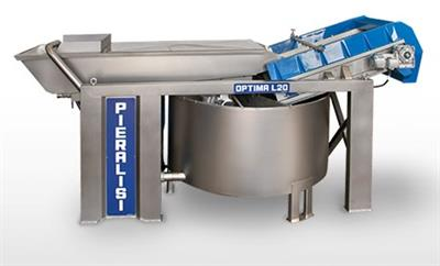 Pieralisi - Model Optima Series - Washing Machine for Olive Oil Production