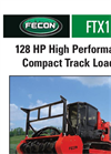 Fecon - Model FTX128R - Mulching Tractor Brochure