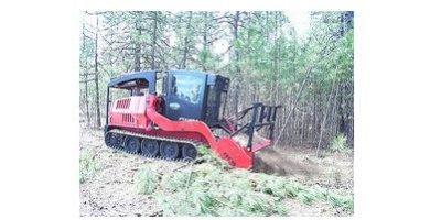 Fecon - Model FTX148 - Mulching Tractor