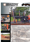 Multitek - Model 1616 EZ - Economical Firewood Processor Brochure