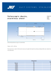 JKF - Telescopic Ducts, Stainless Steel - Brochure
