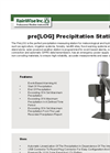 Pre[LOG] Precipitation Station Brochure