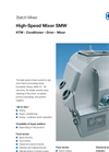 KAHL - High-Speed Mixer SMW - Brochure