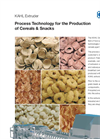Extruder - Process Technology for the Production of Cereals & Snacks - Brochure